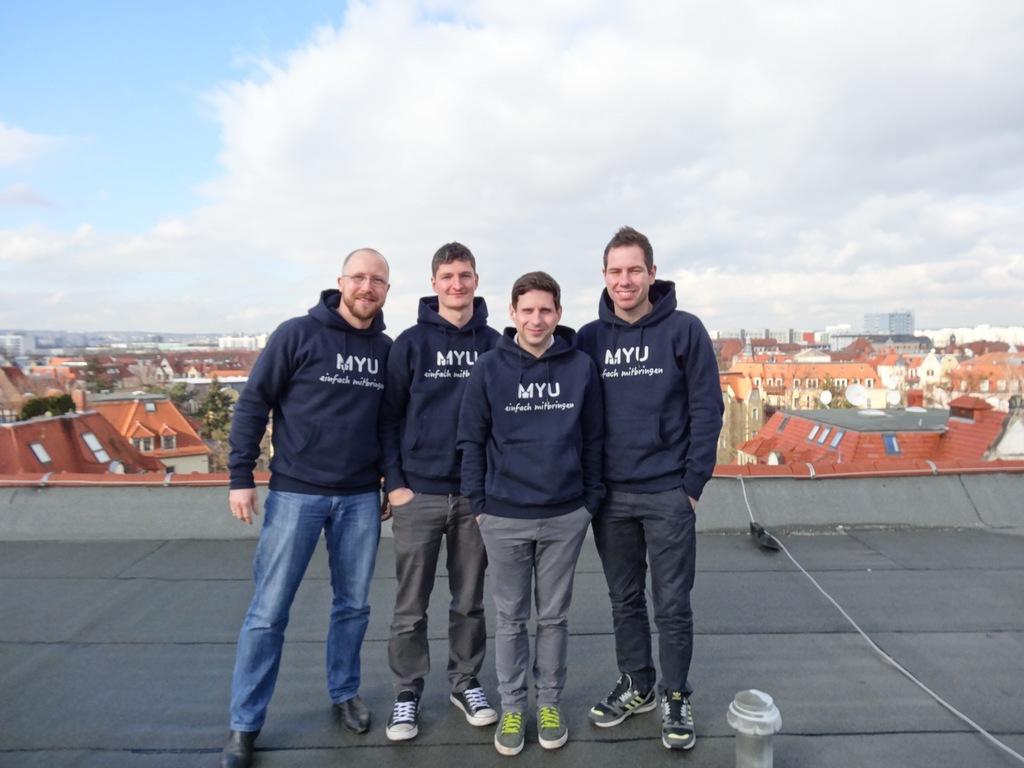 Das Team von MYU