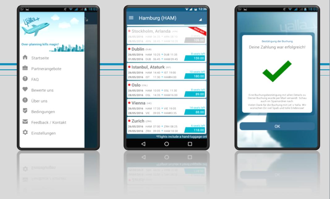 Aktuell gibt es die Let's Yalla App nur für Android aber iOS ist in Planung.