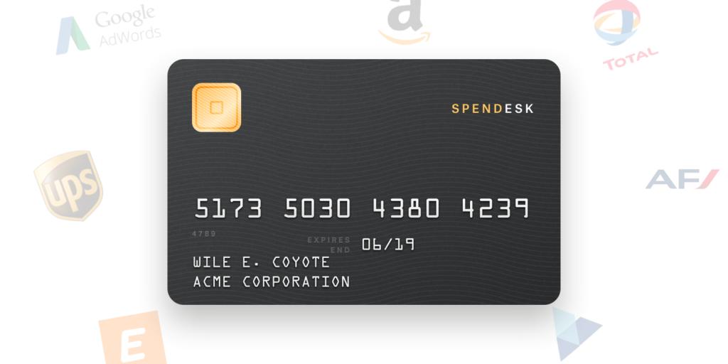 Spendesk bringt mit virtuellen und realen Frmenkreditkarten die Kontrolle und Freiheiten, die Unternehmen benötigen.