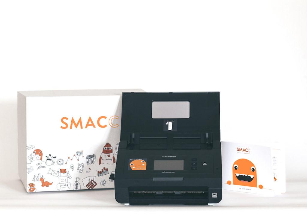 Der SMACC Scanner hilft dabei, die Prozess noch einfach zu machen