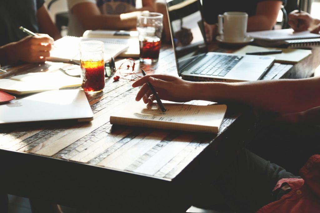 Corporate Blogging sollte ihm Team abgestimmt werden