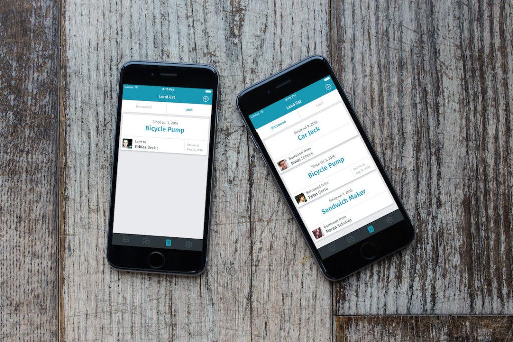 Die Thangs App brillert mit einer einfachen UI.
