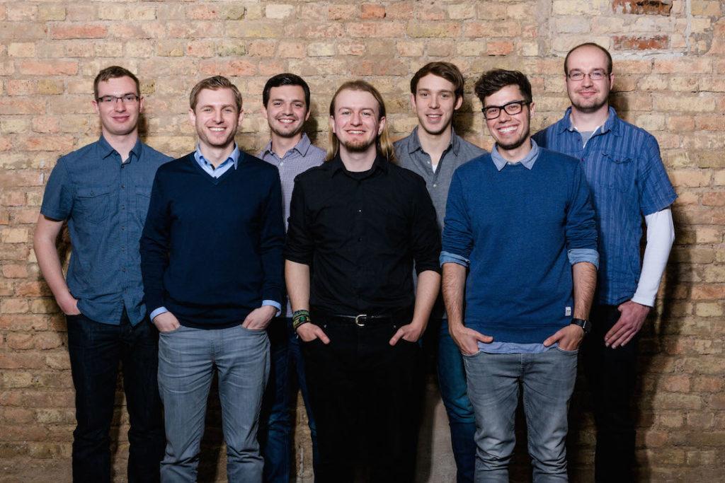 Das Team von Thangs. (Foto: Nadine Burck)