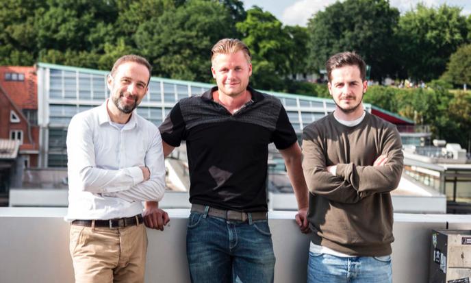 Das Nutringo Team: Michael, Robin und Armend