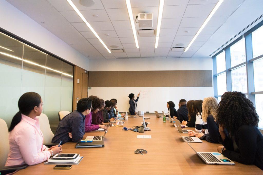 Immer noch sehr beliebt: Meetings