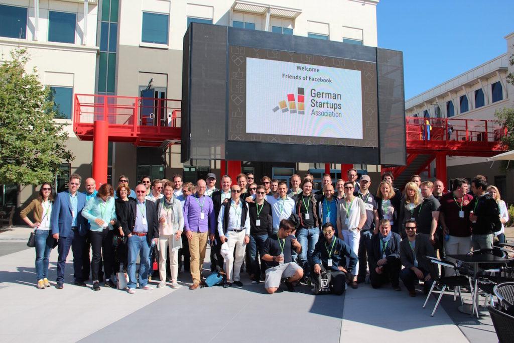 On-Tour: Der Bundesverband Deutscher Startups e.V. pflegt Kontaket auch im Silicon Valley. (Foto: Bundesverband Deutsche Startups e.V.)