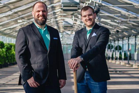 die viRaCube-Gründer Roland Grösslich und Alexander Lampret