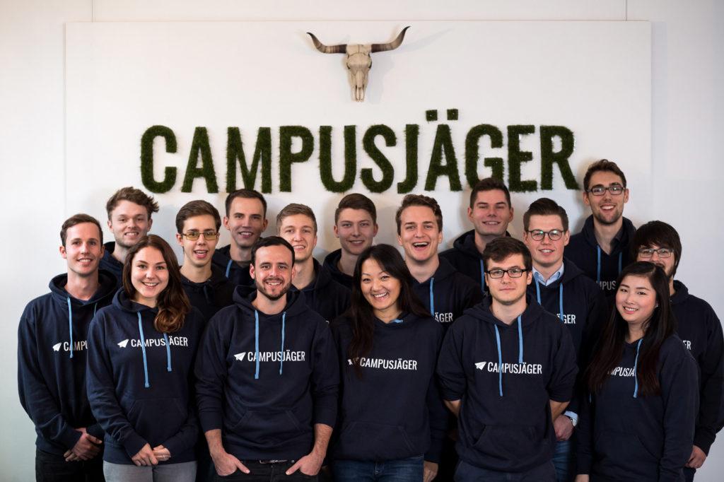 Teambild der Campusjäger