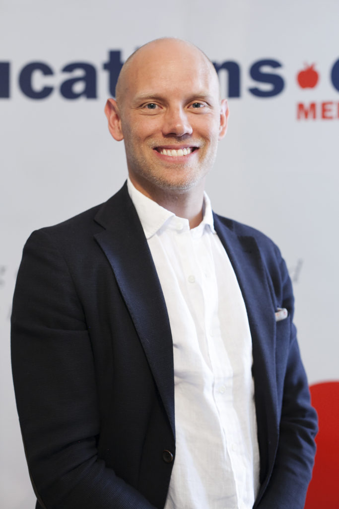 CEO der Educations Media Group (EMG) Fredrik Söderlindh