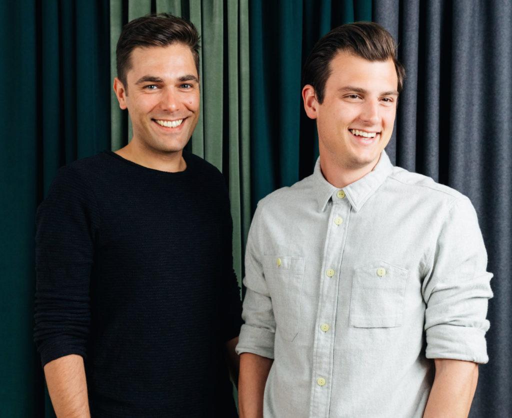 Frank Stegert und Julian Riedelsheimer, Gründer und Geschäftsführer von 99chairs.