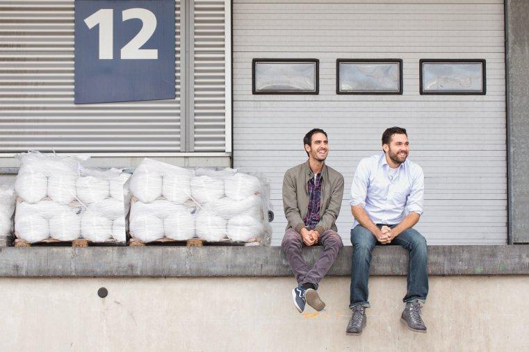 Die Reishunger-Gründer Torben und Sohrab